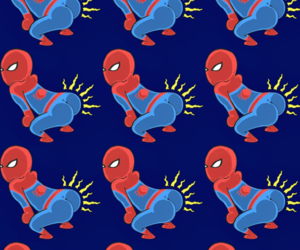 spider man and wallpaper image
