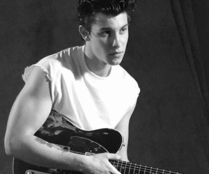 shawn mendes, shawnmendes, and guitar image