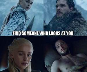 game of thrones, season 7, and love image