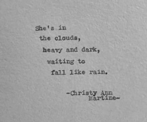 quotes, clouds, and dark image