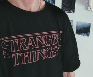 stranger things, stranger things tumblr, and stranger things tshirt image
