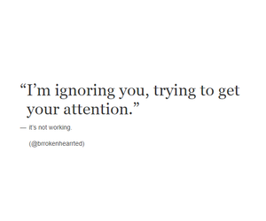 quotes, attention, and him image