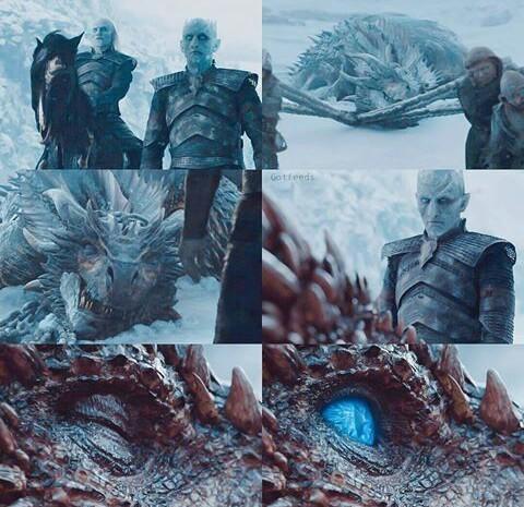 got, daenerys targaryen, and night king image