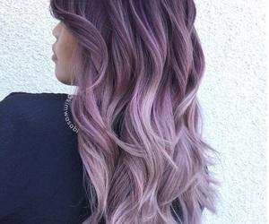 beautiful hair, color hair, and hair image
