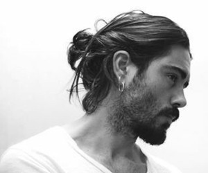 beard, hairstyle, and haircut image
