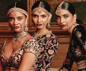 bride, hindi, and india image