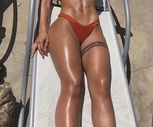 bikini, black women, and poppin image