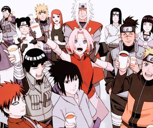 anime, naruto, and sakura image