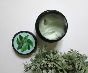 green tea, hair, and scrub image