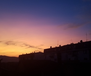 gold, purple, and sky image