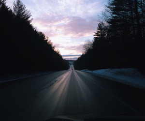 sky, road, and indie image