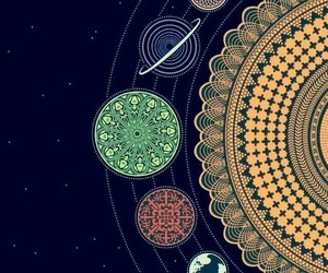 space, planets, and wallpaper image