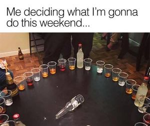 alcohol, funny, and meme image