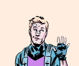hawkeye, Marvel, and clint barton image