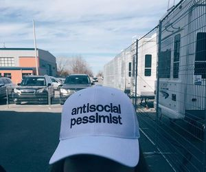 antisocial, grunge, and pessimist image