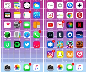 iphone, home screen, and my posts image