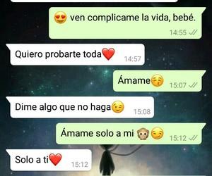 amor, chat, and probar image