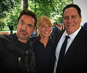 iron man, gwyneth paltrow, and Marvel image