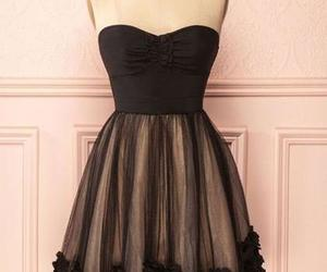 short prom dress, a-line homecoming dress, and tulle homecoming dress image