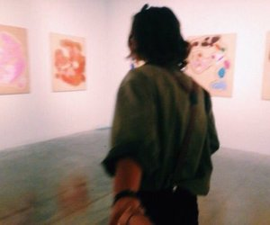 art, grunge, and couple image