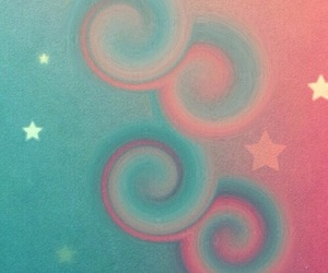 stars, pink, and wallpaper image