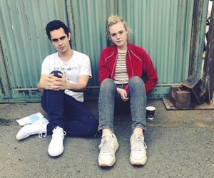 Elle Fanning and max minghella image