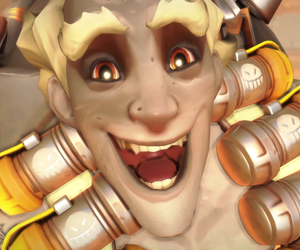 overwatch, junkrat, and jamison fawkes image