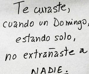 amor, frases, and extrañar image
