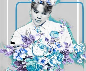 edit, park jimin, and bts image