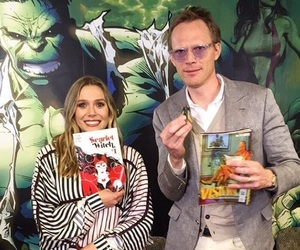 Avengers, Marvel, and paul bettany image