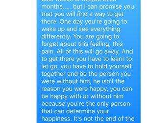 boyfriend, crying, and quote image