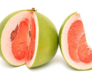 food and drink and pomelo fruits image