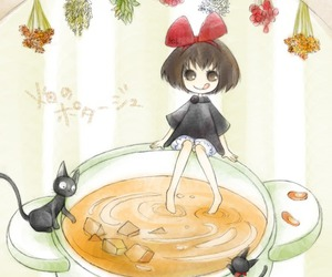 cat and soup image