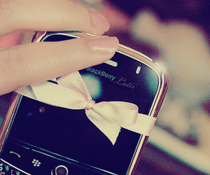 blackberry, pink, and bow image