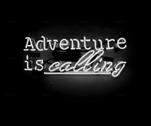 adventure, black and white, and decor image