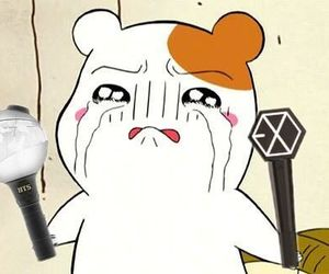 anime, exo, and bts image