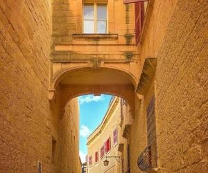 arch, malta, and mdina image