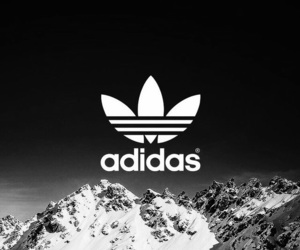 adidas, wallpaper, and mountains image