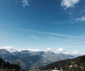 blue sky, france, and french alps image