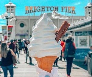 brighton, summer, and Hot image