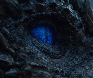 game of thrones, jon snow, and viserion image