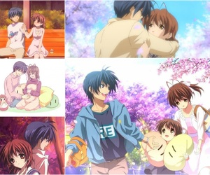 clannad, anime couple, and clannad after story image