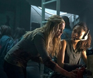 the 100, raven, and clarke image