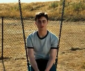 daniel radcliffe, swing, and harry potter image