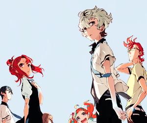 kiznaiver and anime image