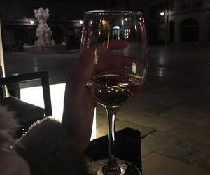 dark, wine, and aesthetic image
