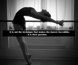 ballerina, dance, and dancer image