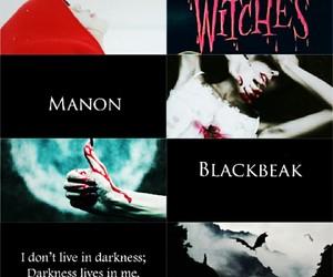 manon blackbeak, aesthetics, and book image