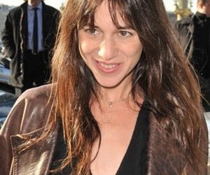 charlotte gainsbourg, trier, and macron image