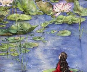 art, girl, and aeppol image